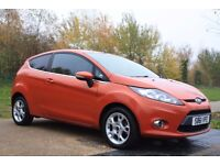 2012 Ford Fiesta 1.4 TDCi DPF Zetec 3dr DIESEL, £20 ROAD TAX, LOW MILES, 3M WARRANTY, PX WELCOME