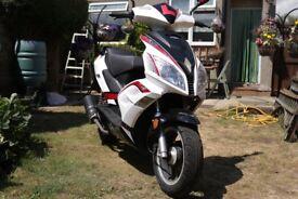 Lexmoto 50cc Moped (MOT Exempt Until 2019)