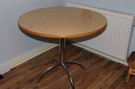 """Free Dining Table -36"""" Diameter - Must go quickly or will be trashed"""