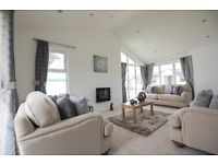 Brand new luxury 2 bedroom park home/holiday lodge on a quiet site in Scottish Borders