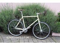 SALE ! GOKU cycles Steel Frame Single speed road bike TRACK bike fixed gear bike racing bike R