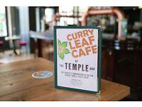 Award-winning Indian kitchen at popular craft beer pub seeks part-time food runners