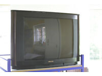 Ideal for Retro Gamers, Philips 27 inch Cathod ray tube teleivision