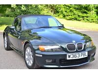 2000 BMW Z3 2.8 Roadster - 17 000 miles from new. Stunning Classic convertible