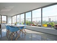 MASSIVE 2 BED, 2 BATH PENTHOUSE APARTMENT WITH VIEWS OF CANARY WHARF!! **NEWLY REFURBISHED**