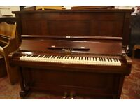 Welmar upright, over strung, piano tuned to concert pitch. UK delivery available