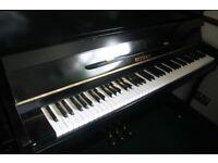 Elysian Shiny Black Upright Piano | Belfast Pianos..