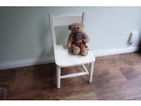 Cute Little Vintage Hand-Painted Child's Chair