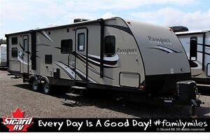 2016 Keystone RV PASSPORT GRAND TOURING 3220BH