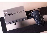 MXR M238 Iso-Brick Power Supply + Pedaltrain 24 Novo