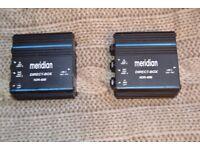 Meridian NDR40 Passive D.I. box (x2)