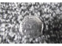 MISS TIGGY WINKLE 50P COIN