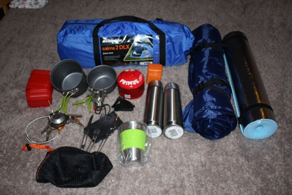 Brand new camping gear (Never used) Almost all you need ...