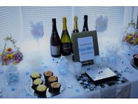Event Coordination and Styling- Sweets and Treats Tables, Full Venue Decor, Part Venue Decor