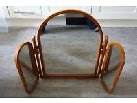 Bradley Dressing Table Triple Mirror