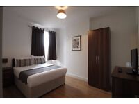 Short Rent from 3 nights | Very Clean, Modern Double Room in Zone 2 Central London Apartment