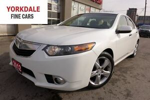 2012 Acura TSX Premium Pkg. Leather. Roof. Rare 6 Spd