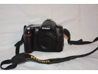Nikon D80 digital camera - body only. Immaculate