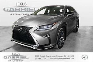 2016 Lexus RX 350 F3 SPORT FULLY EQUIPED WITH PANORAMIQUE ROOF+N