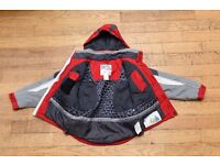 Trespass Boys Childs aged 7-8 Ski Jacket Coat and Salopettes Trousers Set Red
