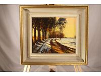 Original Painting Hazlehead Golf Course, by John Logan