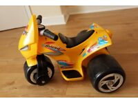 Kids Electric 6VDC Three Wheeled Bike age from 1yr up to 4yr