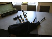 Macleod Highland Supplies Bagpipes + Case, Book and Reeds