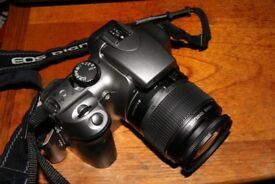 Canon 300d with 18-55mm efs auto foucus lens