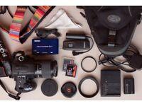 Sony DSLR A-350K bundle