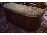 Nice Aged Storage Trunk for Sale