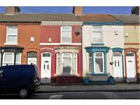 26 Plumer St, Wavertree. 2 bed mid terraced house, double glazed. DSS welcome. No application fees.