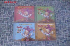 Kids nursery rhymes and story cd's