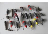 Lead fishing weights, anchor, gripper, sea, rod, reel, swivel