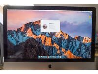 Apple iMac 27 - Original packaging with RAM upgraded to 12GB - macOS High Sierra