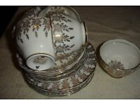 Bone china teaset