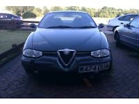Alfa Romeo 156 - Spares or Repair - EXCELLENT Condition Leather Interior + 4x Alloys (Rims) + Tyres