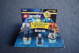 Lego Dimensions Doctor Who level pack 71204 - 100% complete