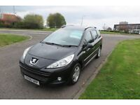 PEUGEOT 207 1.6 HDi SW,2010,Alloys,Air Con,63mpg £30 RoadTax,Full Service History,Very Clean Example