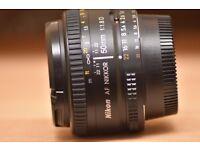 NIKON AF Nikkor 50mm 1:1.8 D