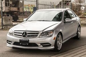 2011 Mercedes-Benz C-Class C350 4MATIC Low Kilometers!