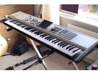 ROLAND FANTOM X7 + piano stand.