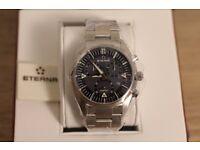 Eterna Kontiki Chronograph Quartz Watch 1250.41.41.0217