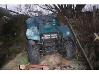 Big Bear Quad 4x4 350 For Sale good engine needs work