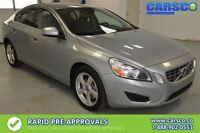 2013 Volvo S60 T5, LEATHER, SUNROOF, PUSH BUTTO START