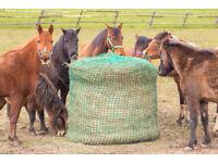 HAY NET - Heavy Duty - SMALL MESH - round bale - Piece of Hay