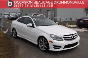 2013 Mercedes-Benz C350 COUPE 4 MATIC-AMG GPS/NAV+TOIT PANO+CUIR