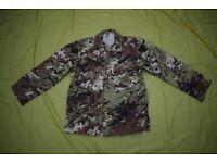 Italian Army Combat Shirt-Jacket, in 'mimetico Vegetata' Camo (size large)