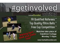 Whitby 6 a side league - Starts April at Caedmon College