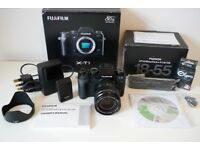 Fuji XT1 Digital Camera with 18-55 F2.8 Lens - Boxed in Excellent Condition