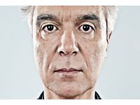 David Byrne - Tickets - Hammersmith 19/06/18 - SOLD OUT GIG